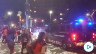 Violencia Cataluña
