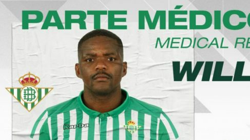 Parte médico de William Carvalho (Real Betis)