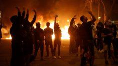 Disturbios en Barcelona por la sentencia del 'procés'. Foto: EFE
