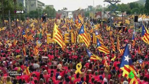 Cataluña en 'laSexta Columna'