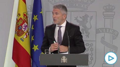 Fernando Grande-Marlaska, ministro de INterior, responde a OKDIARIO