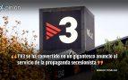 Los Mossos son «perros» para una TV3 desatada