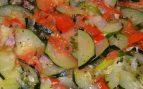Calabacín en ensalada con vinagreta