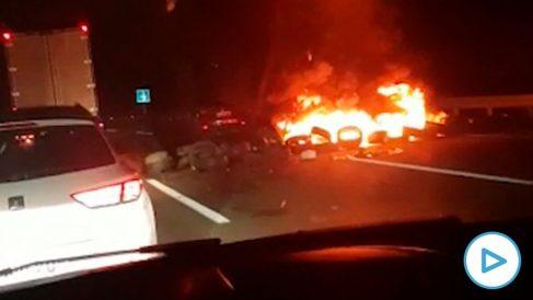 Vídeo del incidente de los CDR en Cataluña.