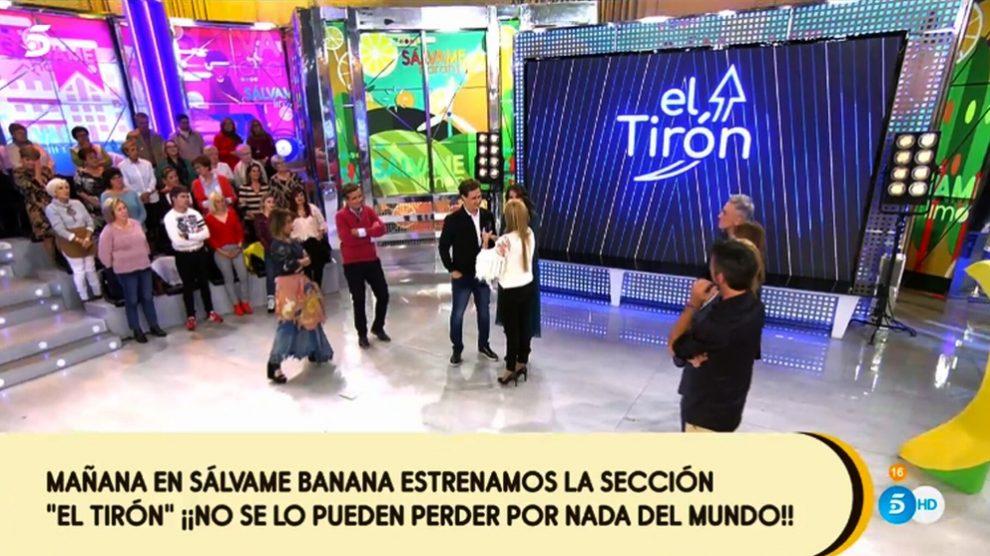 Christian Gálvez presentó 'El Tirón'