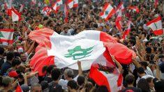 Manifestación en Líbano.