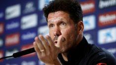 Diego Simeone, en rueda de prensa. (EFE)