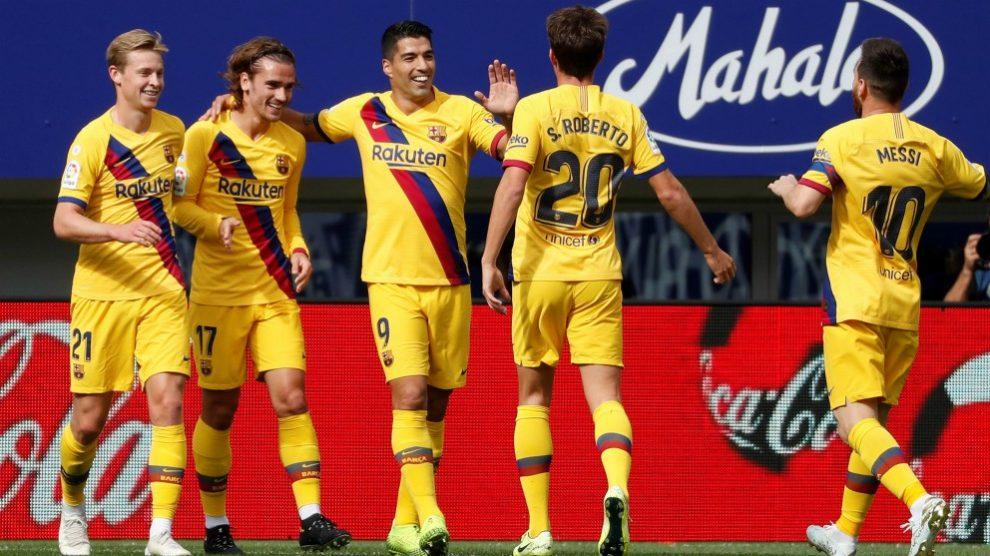 Sigue en directo el partido de la Liga Santander, Barcelona vs Eibar