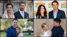 Las bodas de los deportistas en 2019.