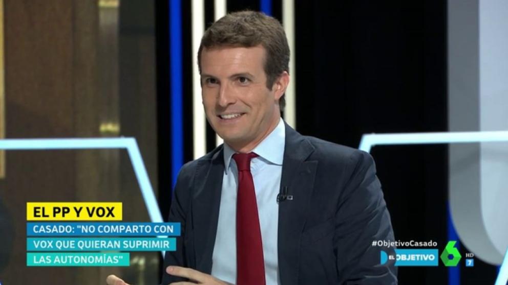 Pablo Casado en 'El Objetivo'