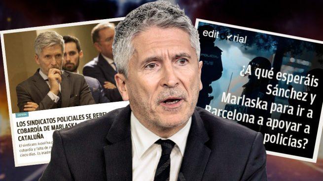 La noticia y el editorial de OKDIARIO que han obligado a Marlaska a viajar a Cataluña