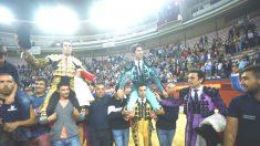 Emilio de Justo y Cayetano salen a hombros este sábado en Jaén (Foto: EFE).