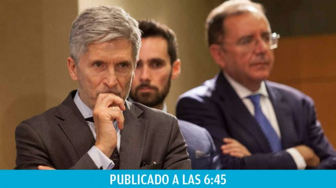 Los sindicatos policiales se rebelan contra la cobardía de Marlaska: 5 días y sigue sin ir a Cataluña