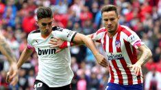 Atlético de Madrid vs Valencia, en directo