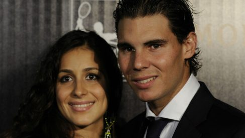 Rafa Nadal y Xisca Perelló. (AFP)