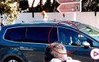 Así fue la llegada del Rey Juan Carlos a la boda de Nadal
