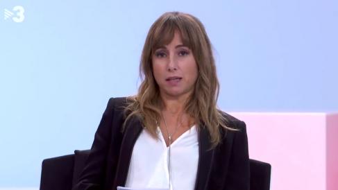 La directora del diario 'Público', Ana Pardo de Vera, este sábado en TV3.