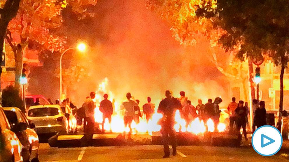 Los antidisturbios destinados en Barcelona: «Es una puta locura»