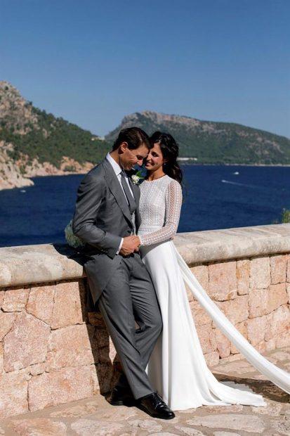 Salen a la luz las primeras fotos de Rafa Nadal y Xisca Perelló en su boda