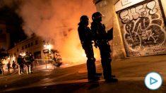 DIsturbios en Barcelona (Foto: EFE)
