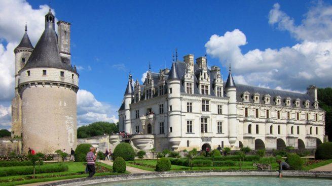 castillos más bonitos de francia