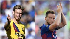 De Jong se consolida en el centro del campo del Barça. (AFP)