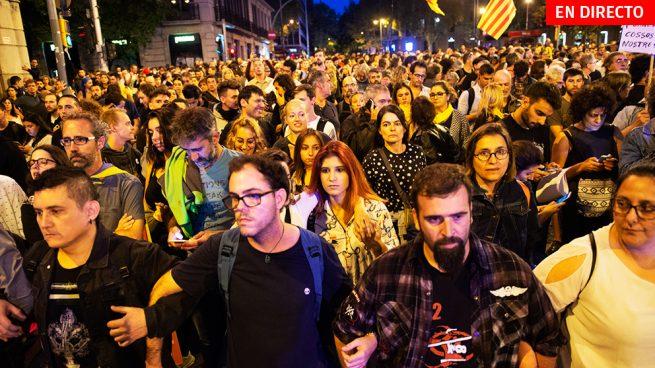 Última hora de Cataluña hoy, en directo: Concentraciones e incidentes en Barcelona
