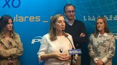 La expresidenta del Congreso y número dos al Congreso por Madrid, Ana Pastor. (Foto: PP)