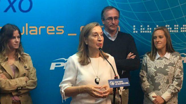 Ana Pastor arremete contra Sánchez: «Debe asumir su responsabilidad en Cataluña»