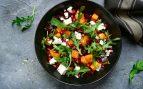 Ensalada de remolacha, zanahoria y queso de cabra