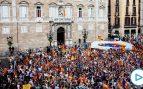 Casi 2.000 personas arropan a Rivera en un acto en Barcelona: «Esto es una auténtica dictadura»