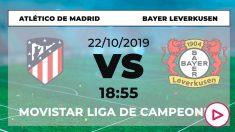Atlético y Bayer Leverkusen se enfrentan en el Metropolitano.