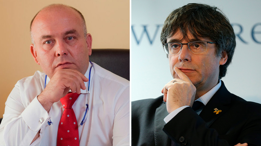 Gonzalo Boye y Carles Puigdemont