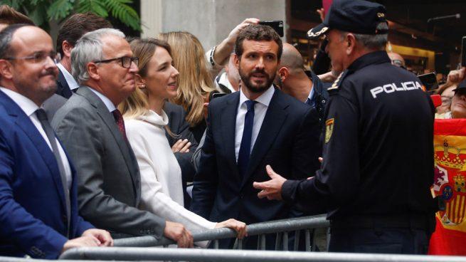 La delegación de Gobierno impide a Casado visitar a la cúpula policial como ha hecho Sánchez