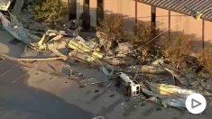 Un tornado deja múltiples destrozos en Dallas.