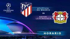 Atlético de Madrid – Bayer Leverkusen: partido de la jornada 3 de la Champions League.