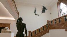 Hanging Figures, 1997. Juan Muñoz. @MuseoBellasArtesdeBilbao