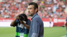 Juan Carlos Unzué con el Girona (Girona Fútbol Club)