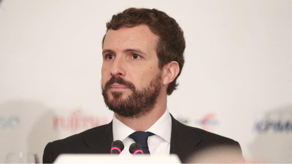 Pablo Casado en una reciente imagen (Foto: EUROPA PRESS).