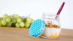 Receta de Tarta de arroz y frutas