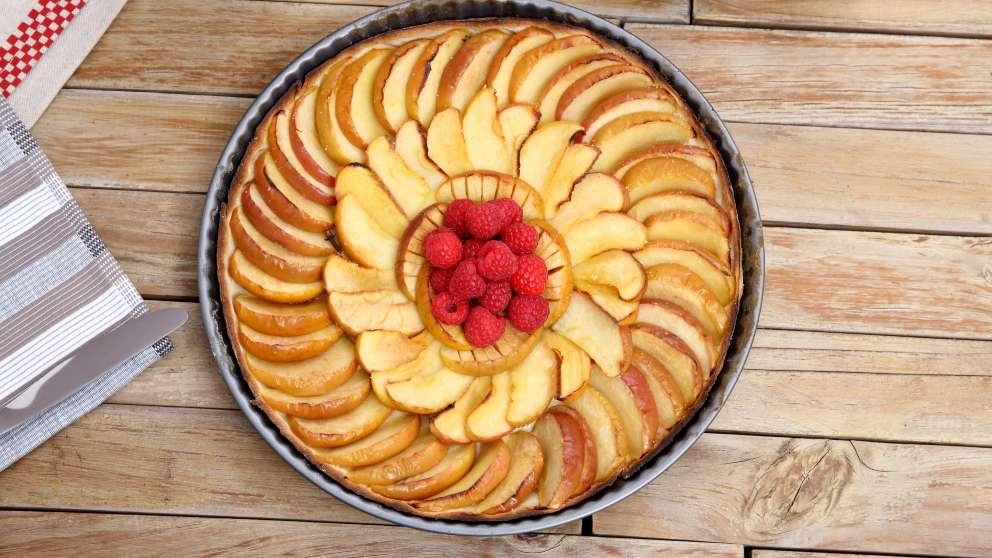 Receta de Tarta de manzana exprés con Thermomix