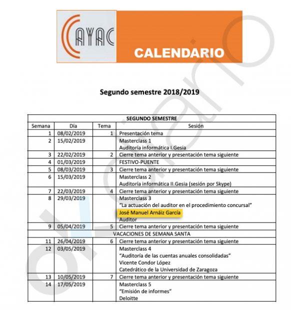 El marido de la vicerrectora Prieto es profesor de un máster de la Universidad de Burgos.