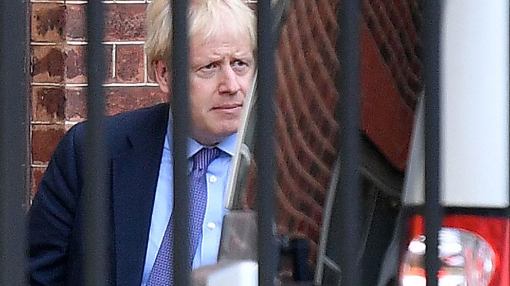 Boris Johnson, primer ministro británico. Foto: AFP