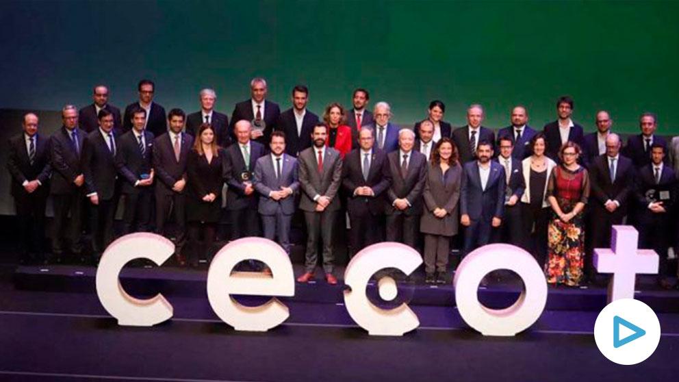 Acto de la patronal independentista Cecot