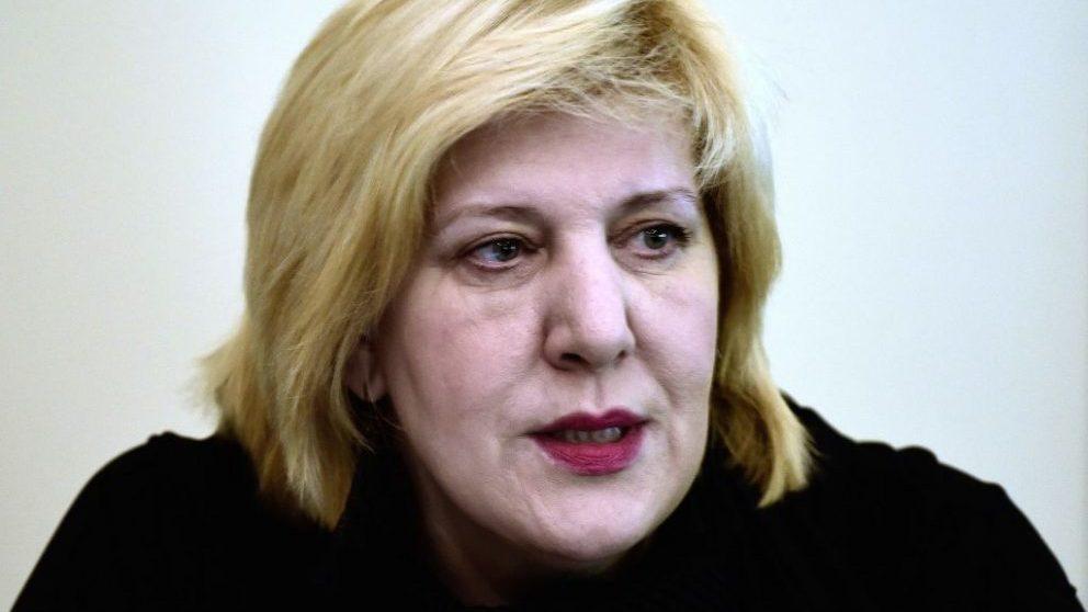 La comisaria europea de Derechos Humanos del Consejo de Europa, la bosnia Dunja Mijatovic @Getty