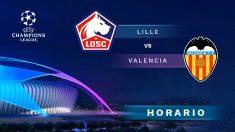 Champions League 2019-2020: Lille – Valencia | Horario del partido de fútbol de Champions League.