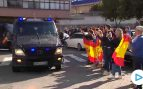 La Coruña recibe como héroes a los policías desplegados en Barcelona