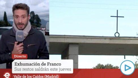 Un periodistas de TVE confunde el nombre de la mujer de Franco con Carmen Calvo.