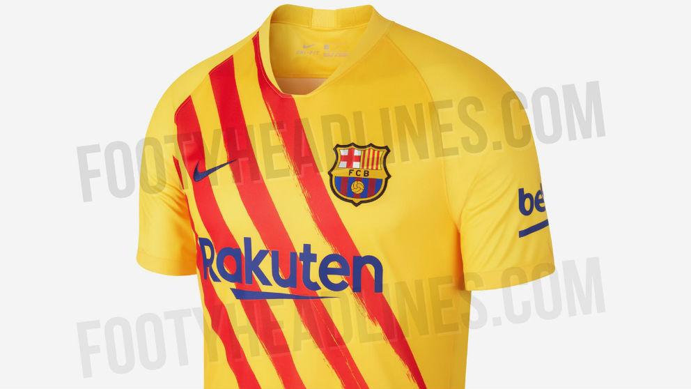 Así será la cuarta camiseta del Barcelona. (Foto: Footy Headlines)