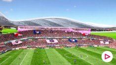 Así es el increíble estadio de David Beckham.